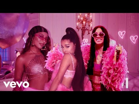 Ariana Grande, Cardi B - 7 rings (Music video) [Remix]