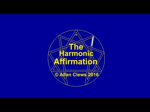 The Harmonic Affirmation