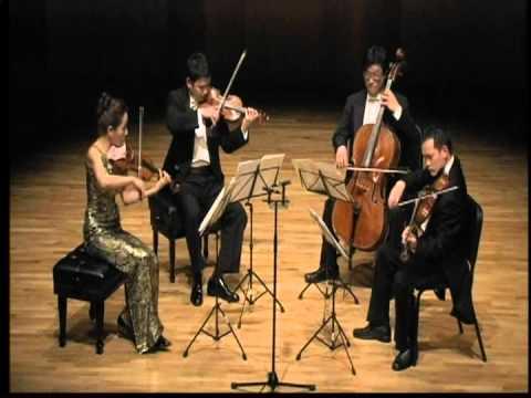"Dvorak String Quartet ""American"" 4th Movement"