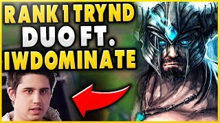THIS * NEW* HIGH-ELO DUO STRATEGY IS LEGIT BROKEN! FT. IWILLDOMINATE! (2V8) - League of Legends
