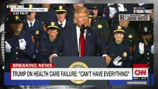 Trump Joking About Murderous Cops