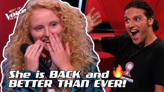 Sezina sings 'What About Us' by P!nk | The Voice Stage #32