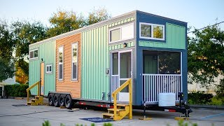 Luxurious Beautiful The Culp Tiny House On Wheels | Living Design For A Tiny House