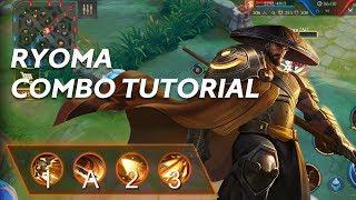 Ryoma - Combo Tutorial | Arena of Valor