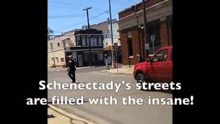 Schenectady Police Threatened With Violence