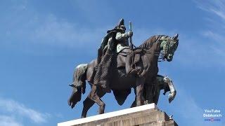 Deutschland Stadt Koblenz Deutsches Eck Rhein Mosel Kaiser Wilhelm Denkmal