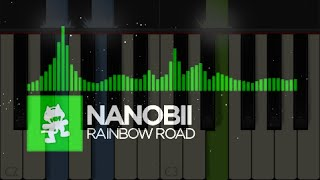 Repeat youtube video Nanobii - Rainbow Road - Piano *Midi*