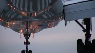 伊丹空港 千里川土手 飛行機の離着陸シーン30連発 2014年9月21日 thumbnail