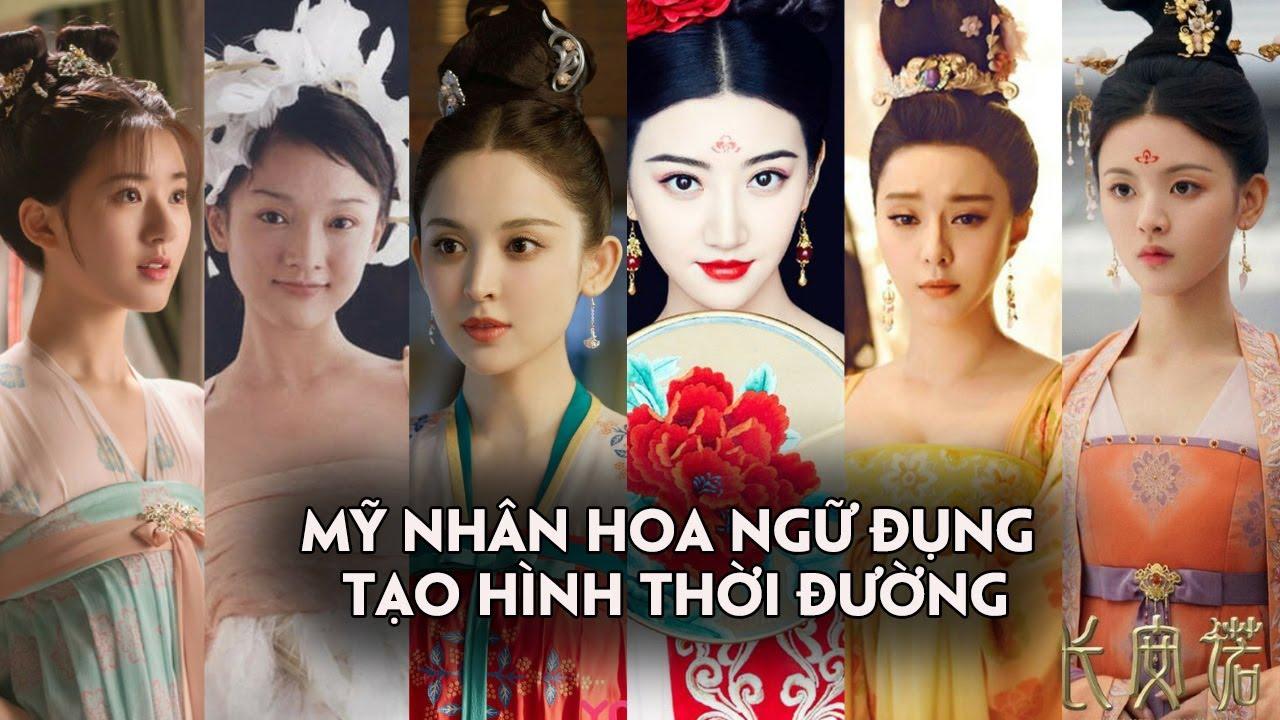 Những mỹ nhân Hoa ngữ trong tạo hình thời Đường trên màn ảnh