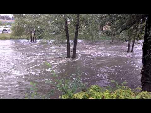 Bridge Street Flood (Las Vegas New Mexico)