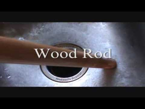 Fix A Garbage Disposal With A Wood Rod Youtube