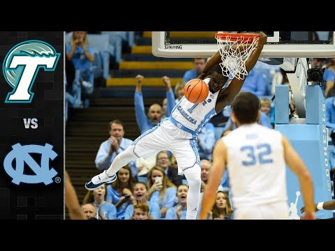 Tulane vs. North Carolina Basketball Highlights (2017)