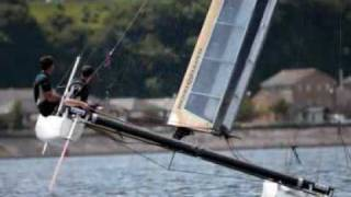 Team Invictus C-Class Catamaran Sailing