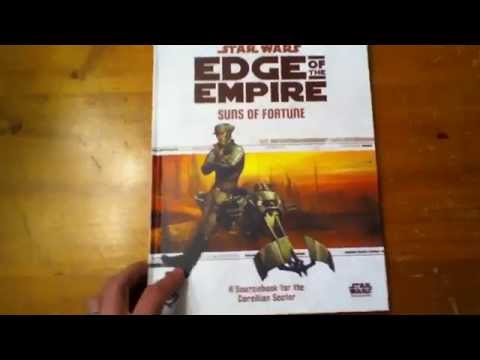 Star Wars Edge of the Empire RPG Suns of Fortune Sourcebook
