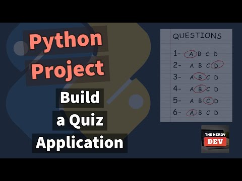 Build a Quiz Application in Python