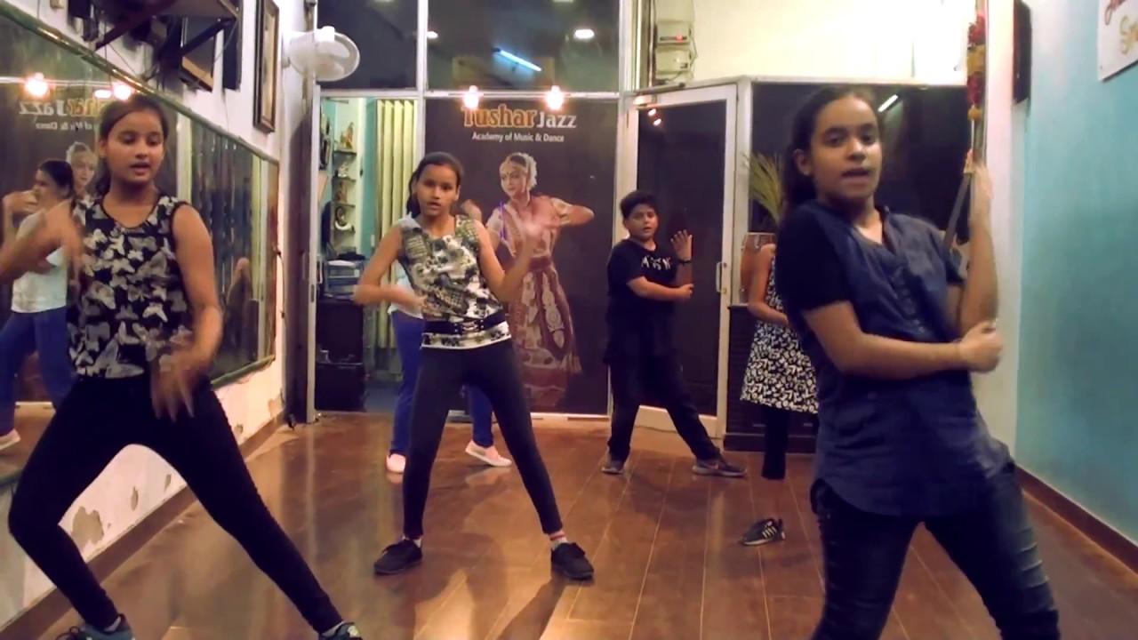 thug ranjha dance|tushar jazz dance studio|akasa|girl video|hindi song 2018