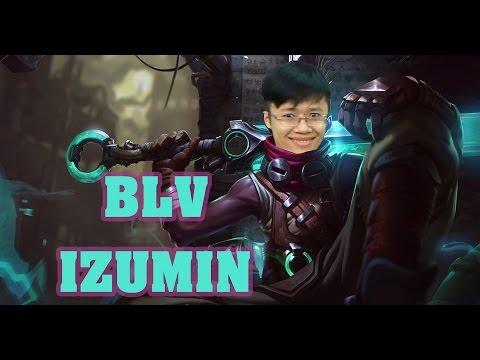 [Rank Việt] BLV Izumin phá đảo rank Việt với Ekko đi TOP