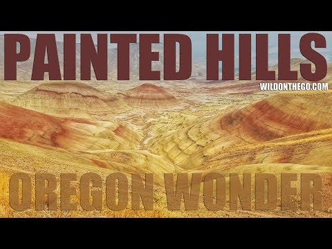 Painted Hills Oregon  John Day Fossil Beds National Monument  Full Time RV Travel