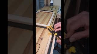 Ременная струбцина Stanley 0-83-100 обзор и склейка рамки
