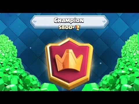 GEMS WILL GET ME TO CHAMPIONS LEAGUE | Clash Royale