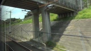 東北・北海道新幹線 H5系 はやぶさ10号 車窓4 仙台~大宮 Scenery from a Shinkansen window