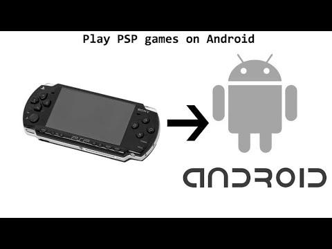 cara menginstall game psp di android
