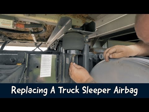 REPLACING A TRUCK SLEEPER AIRBAG