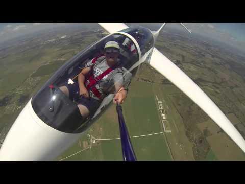 Flying a Glider