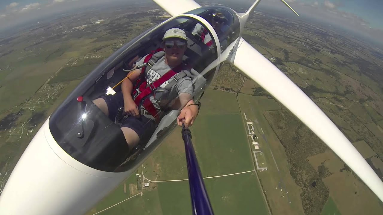 flying a glider youtube