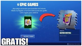 FREE BESTIAL GRAPHITI AND CHANGES IN TOY EBNVOLTORY, IN FORTNITE, SEASON 10