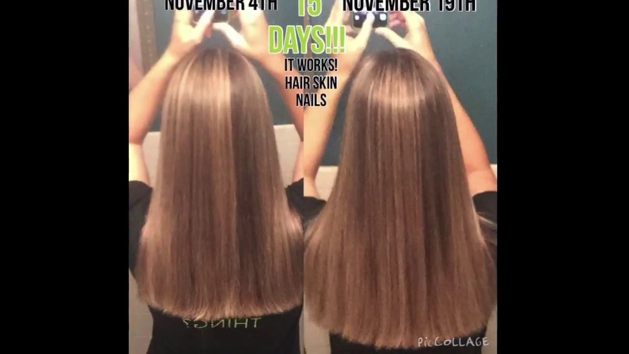 It Works Hair Skin Nails Results - YouTube