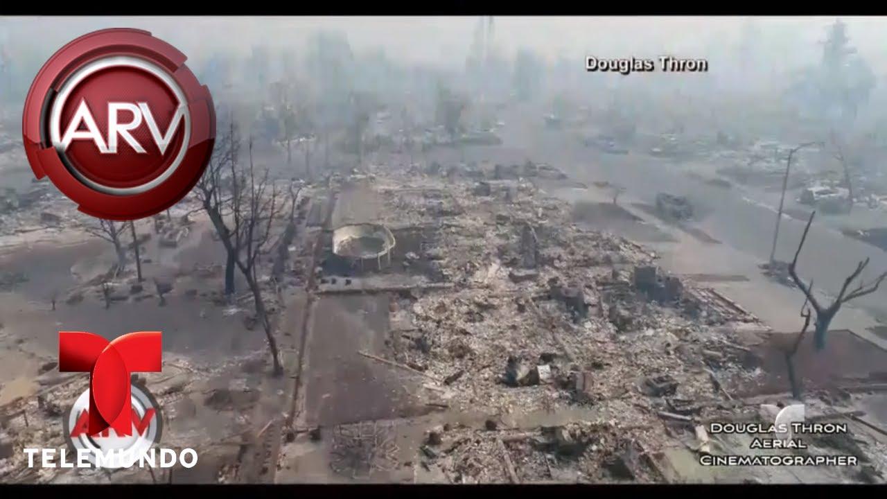 Incendios fuera de control arrasan a california al rojo for Fuera de control dmax