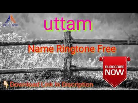 Uttam Name Ringtone Free Download - YouTube