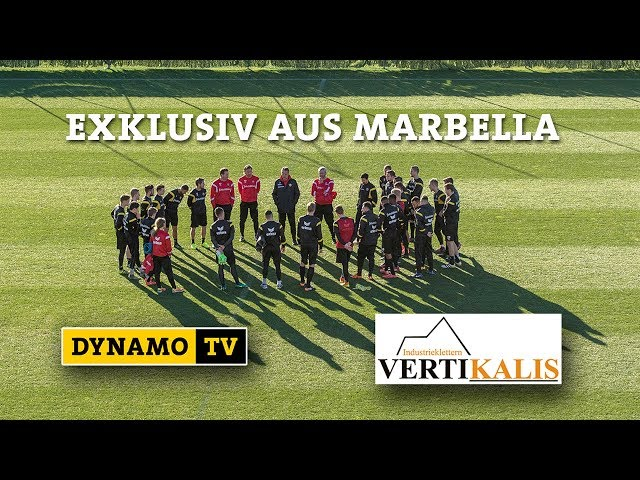 DynamoTV im Trainingslager in Marbella 2018