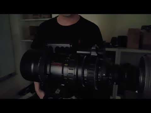 Optitek testing Angenieux Optimo 24-290mm...