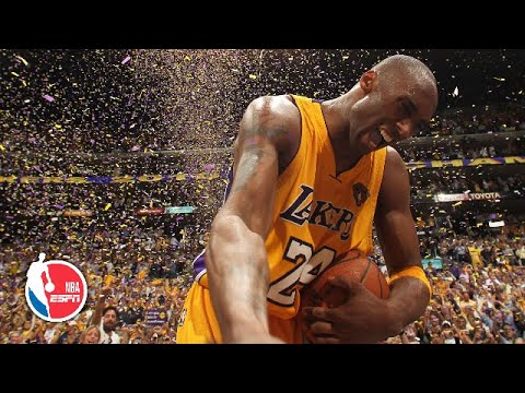 Kobe Bryant S Top 10 Moments Nba On Espn Youtube
