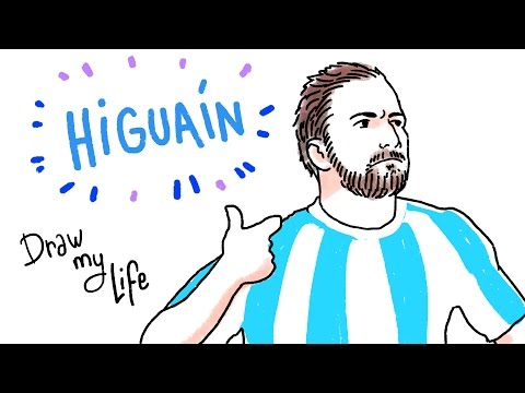 GONZALO HIGUAÍN - Draw My Life