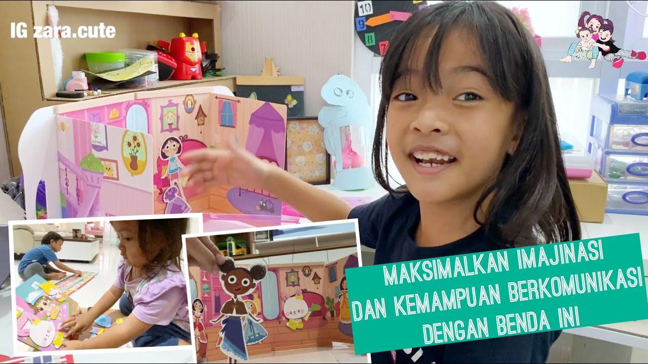 Buku ini Bikin Anak Belajar Berimajinasi dan Melupakan Gadget | Zara Cute