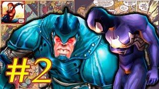 Прохождение Ultimate Spider-Man Total Mayhem HD уровень 2 [перевод] iOs