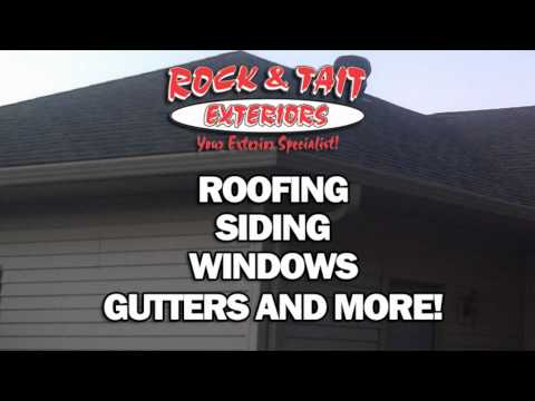 Maplewood, Minnesota Roofing Contractor - Fully Insured - Rock & Tait Exteriors, LLC
