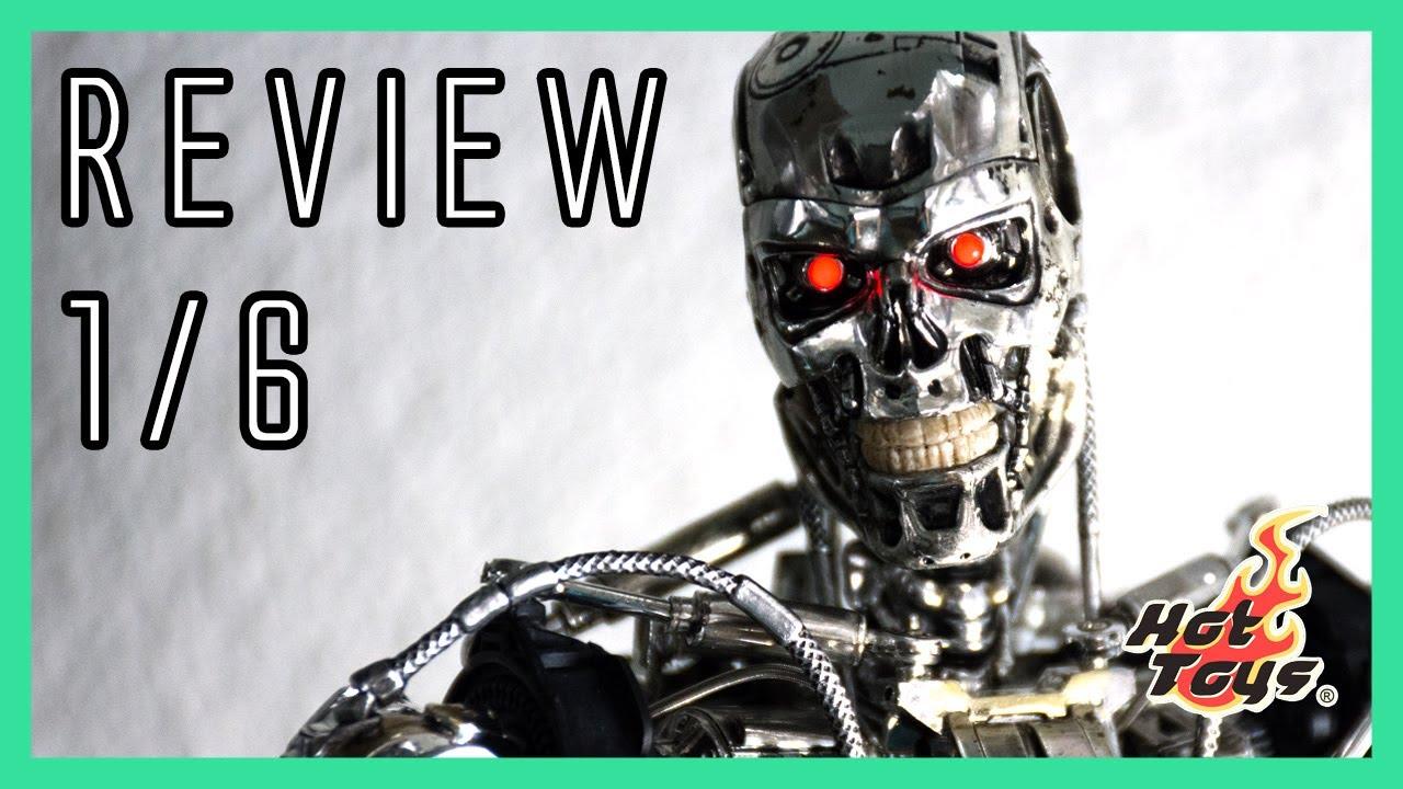 Hot Toys Terminator: Genisys Endoskeleton 1/6 video review ...