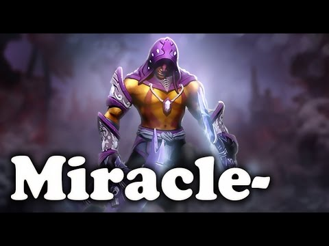 Miracle- EPIC Anti Mage comeback 1 vs 9 Dota 2 MMR Gameplay