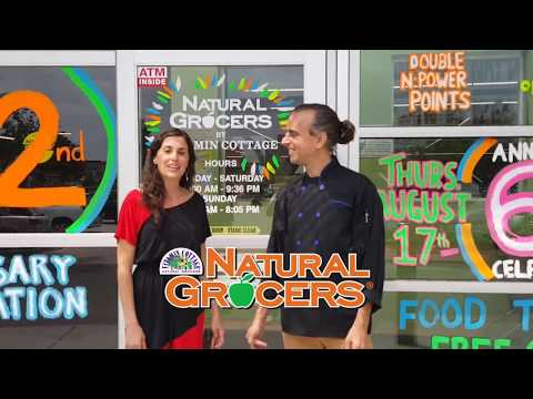 Natural Grocers Store Tour & Product Feature   Aug