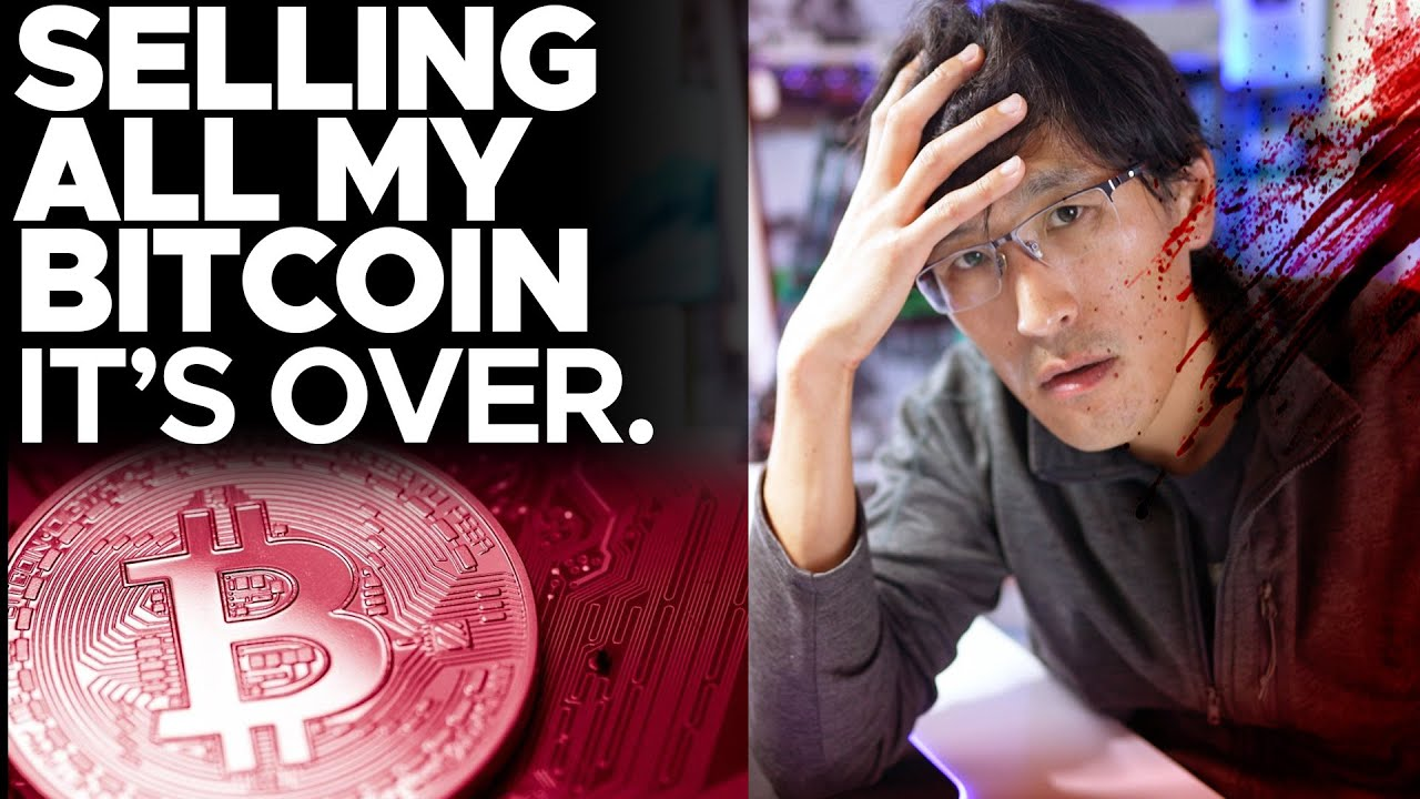 SELLING ALL MY BITCOINS. It's over... massive losses.