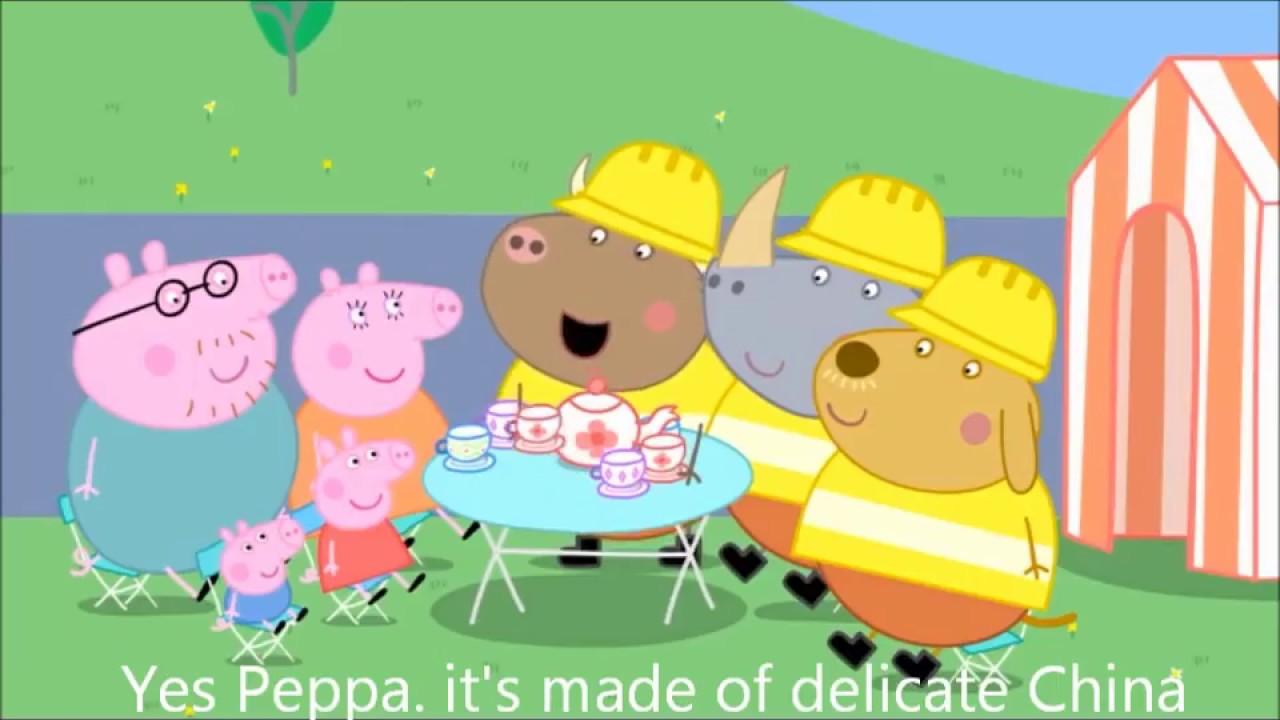 [中文] [Peppa Pig Episode 42] 佩佩豬被禁播全因為..... - YouTube