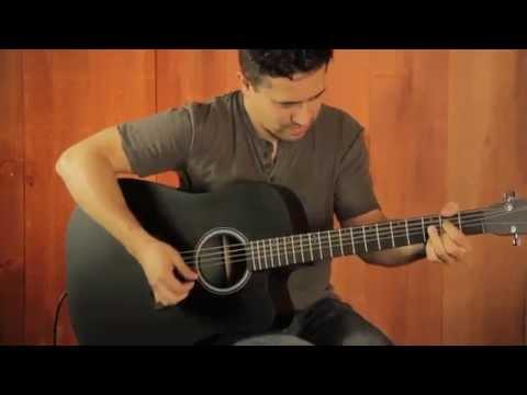 Martin Performing Artist Series DCPA5 Black Acoustic Guitar Demo