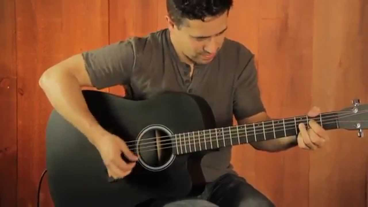 martin performing artist series dcpa5 black acoustic guitar demo youtube. Black Bedroom Furniture Sets. Home Design Ideas