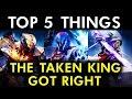 Destiny - Top 5 Things The Taken King Got Right!