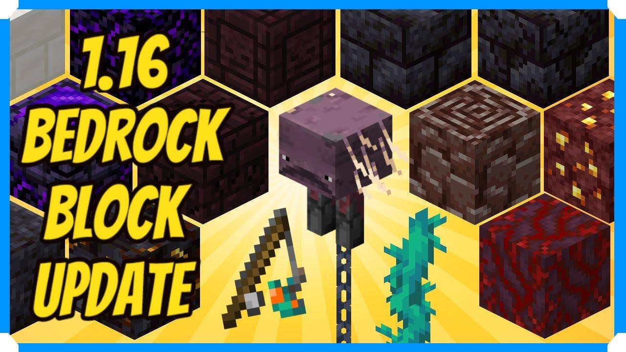 Minecraft Windows 10 Beta 1.16