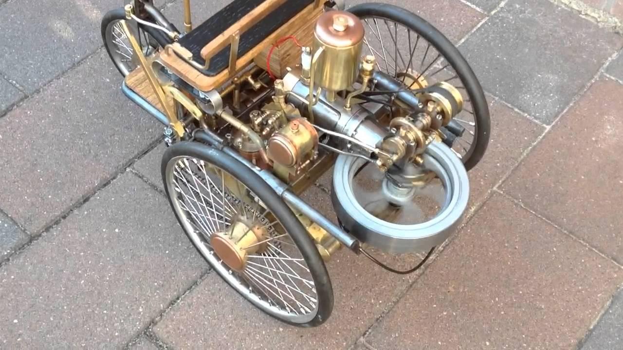 karl Benz model engine 1886 - YouTube